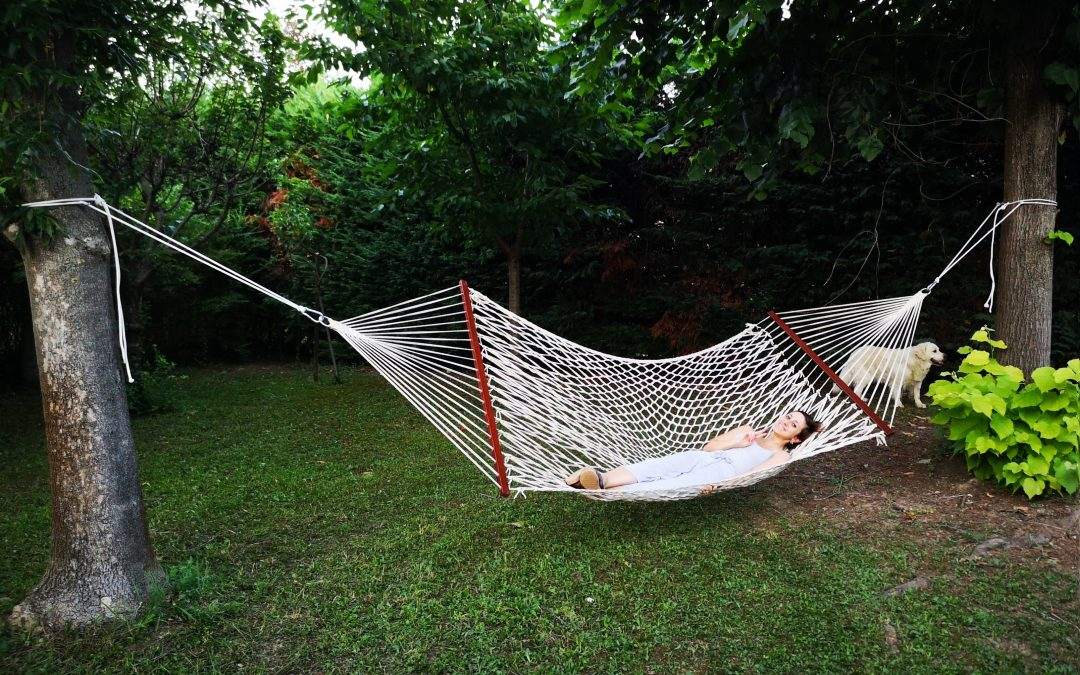 Amaca da giardino Tropilex: quando il relax è di casa