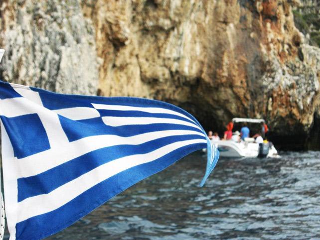 Corfu gita in barca
