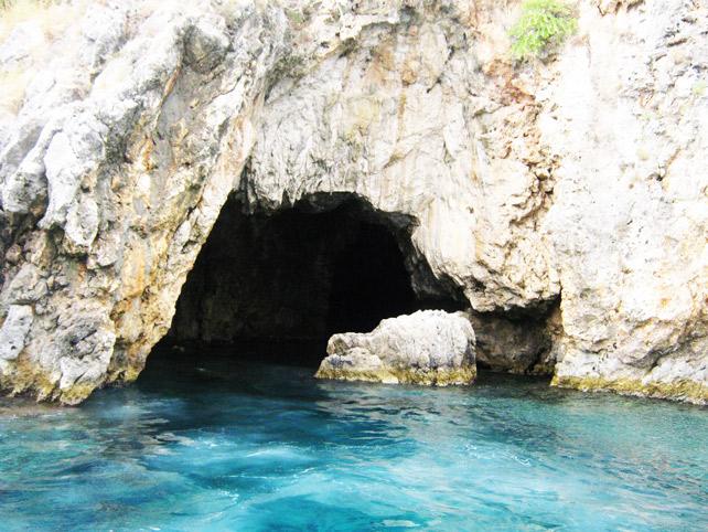 Corfu Grotte Blu