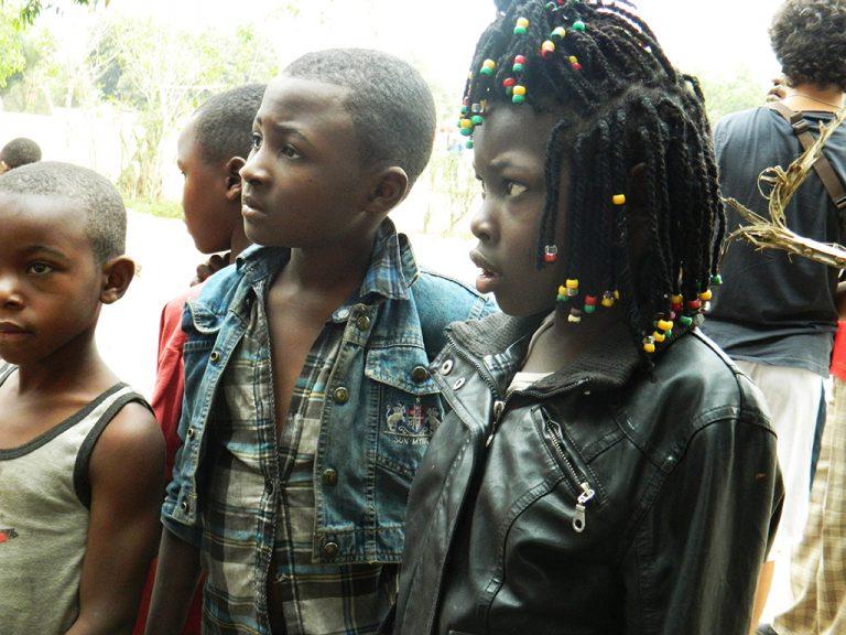Bambina congolese