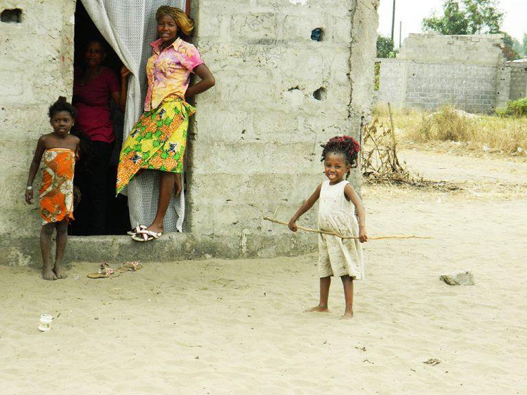 Bambina sorriso Congo
