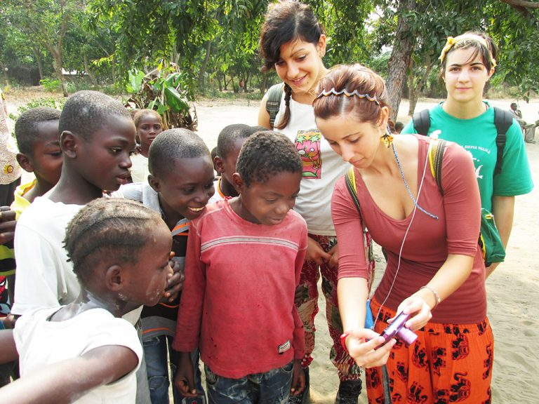Bambini Congo foto