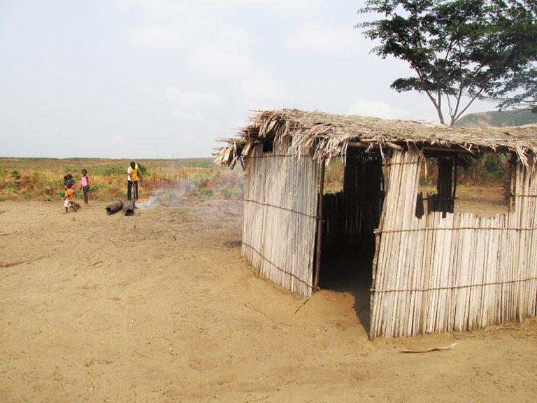 Capanna villaggio Africa