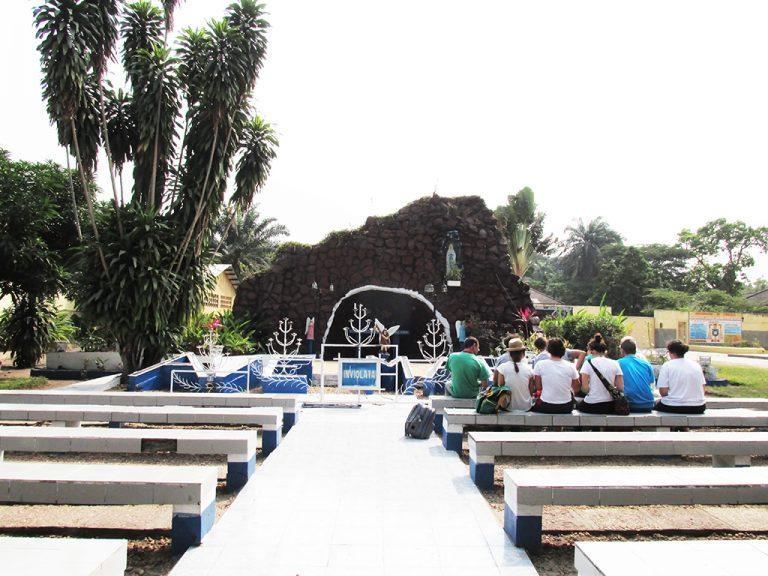 Kinshasa grotta Maria