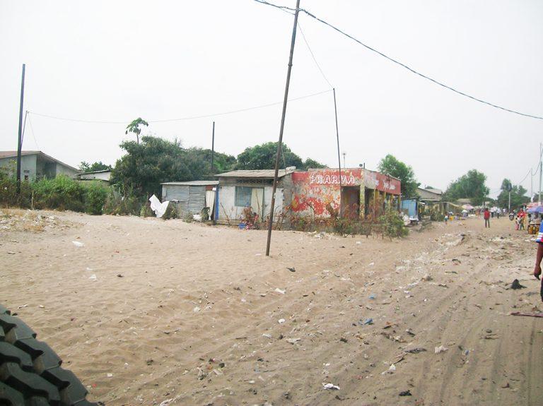 Strada di sabbia Congo