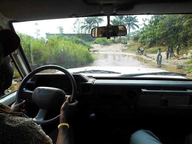 Viaggio Congo jeep