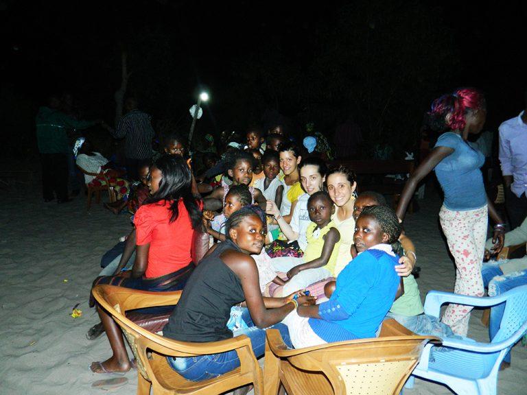 Villaggio Congo notte