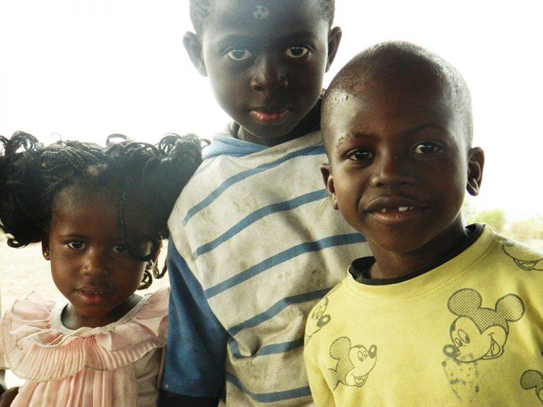 Bambini congolesi