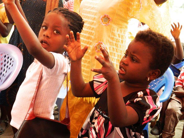 Bambini messa Congo