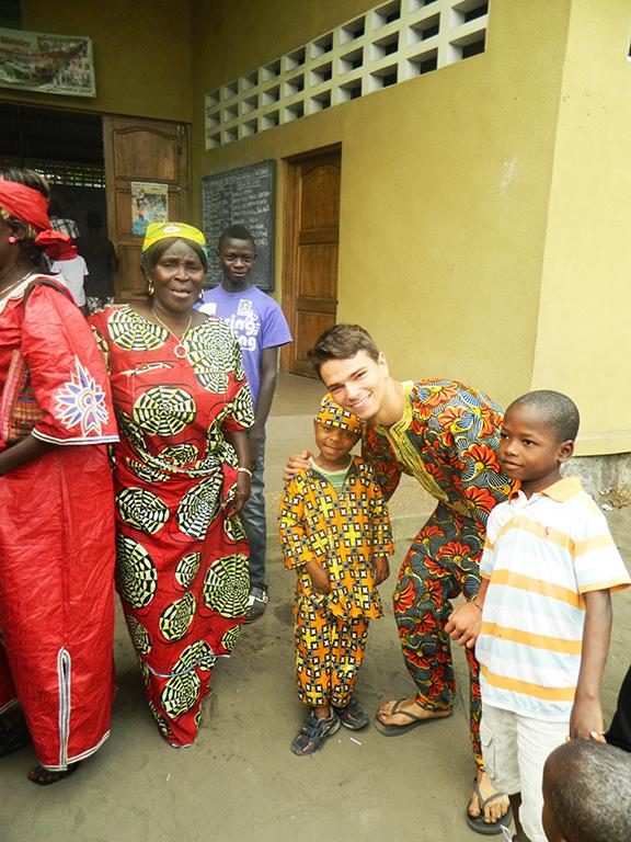Bambini viaggio Africa