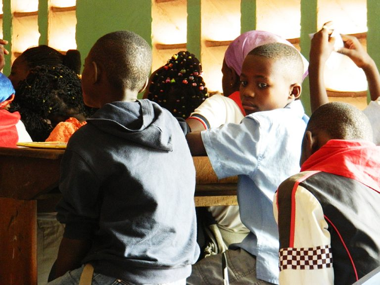 Bimbo Congo scuola