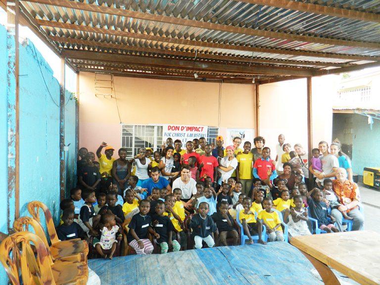 Congo bambini orfanotrofio