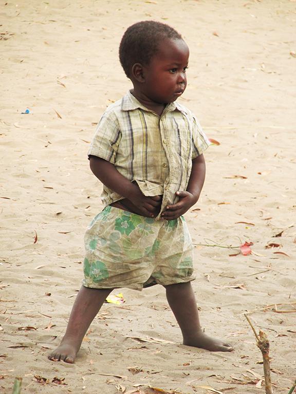 Congo bambino Africa