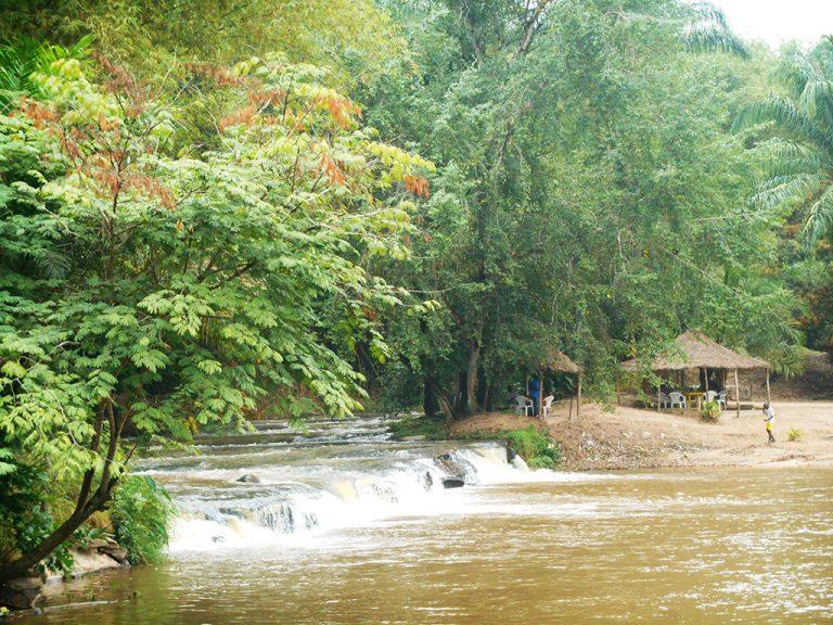 Congo fiume paesaggio