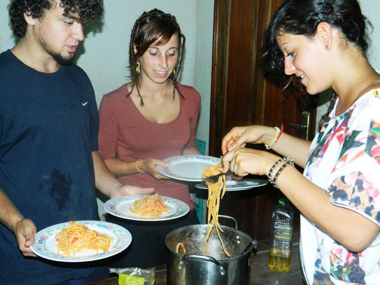 Congo spaghetti