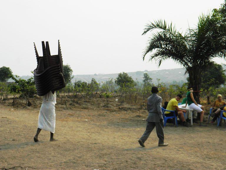 Donna uomo Africa