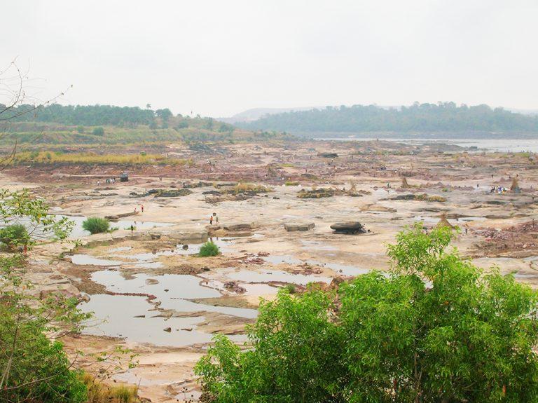 Fiume Congo paesaggio