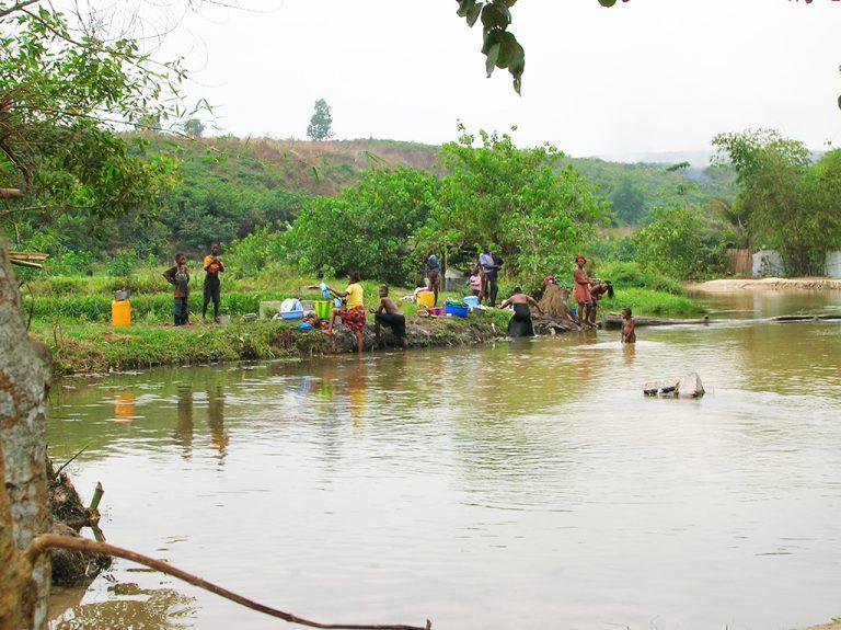 Fiume Congo viaggio