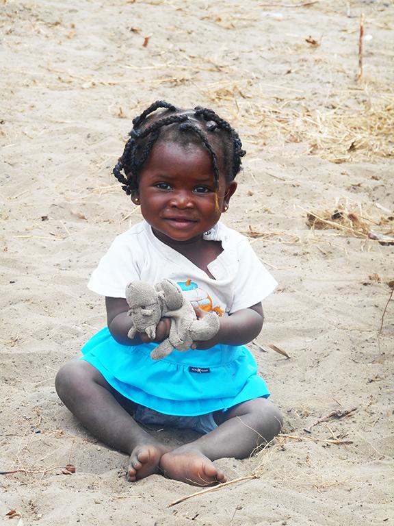 Fotografia bambina Africa