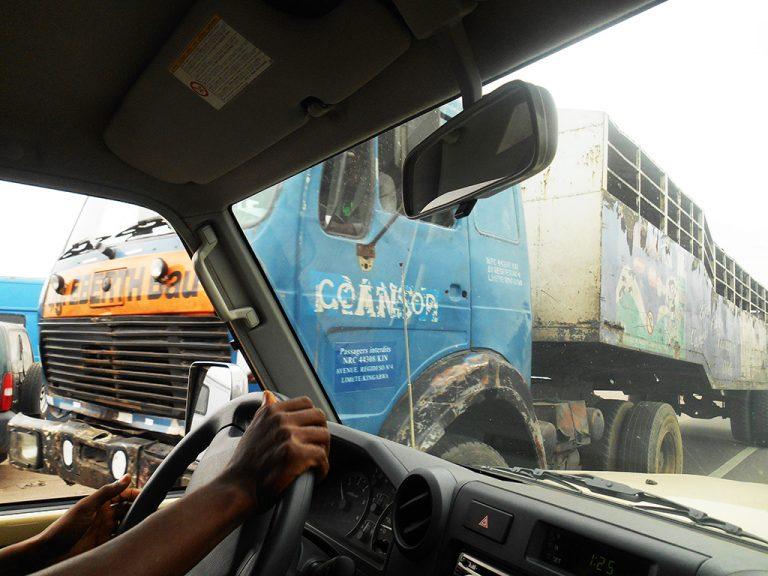 Kinshasa camion