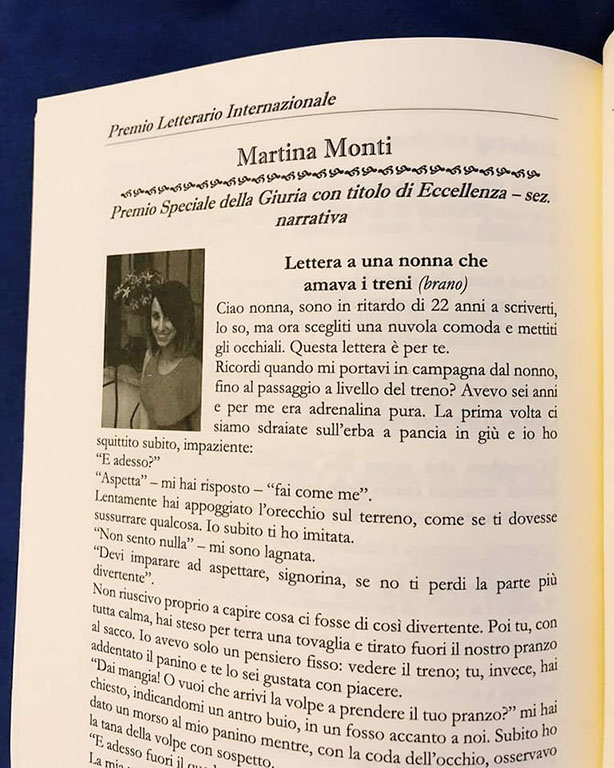 Martina Monti premi