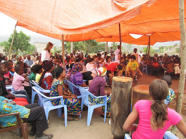 Messa villaggio Congo