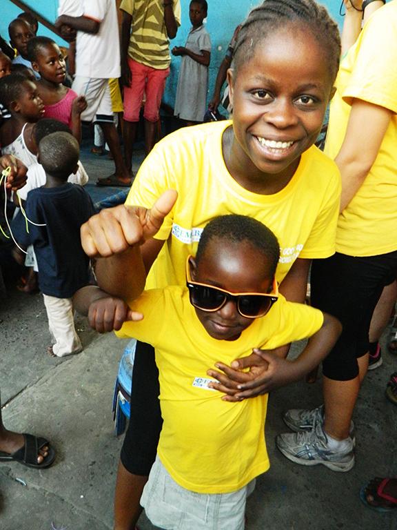 Ragazzi orfanotrofio Congo