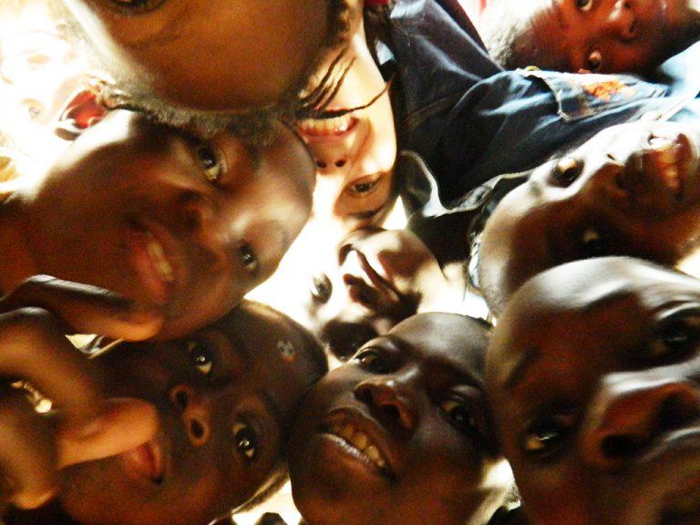 Selfie Congo bambini