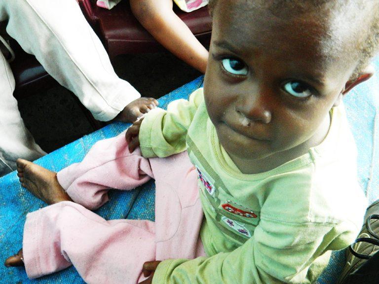 sguardo bambino Congo