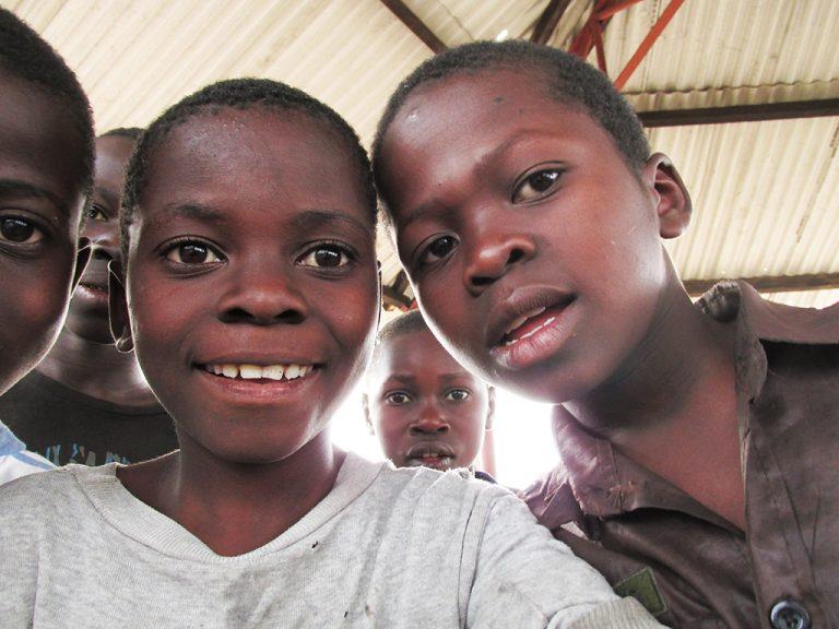 Sorrisi bambini Africa