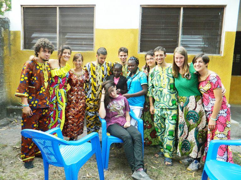 vestiti africani Congo