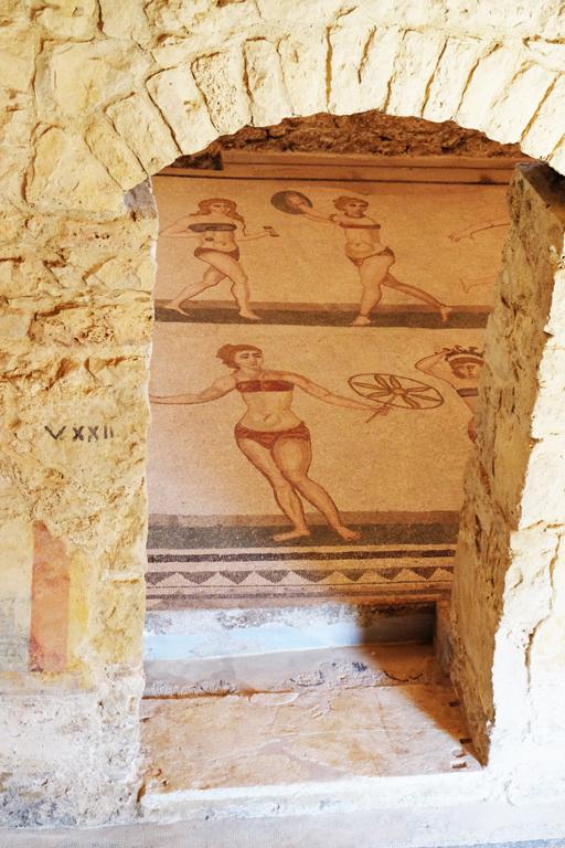 Mosaici Sicilia Villa Romana