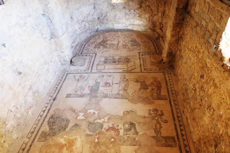 Mosaici Villa Romana Sicilia