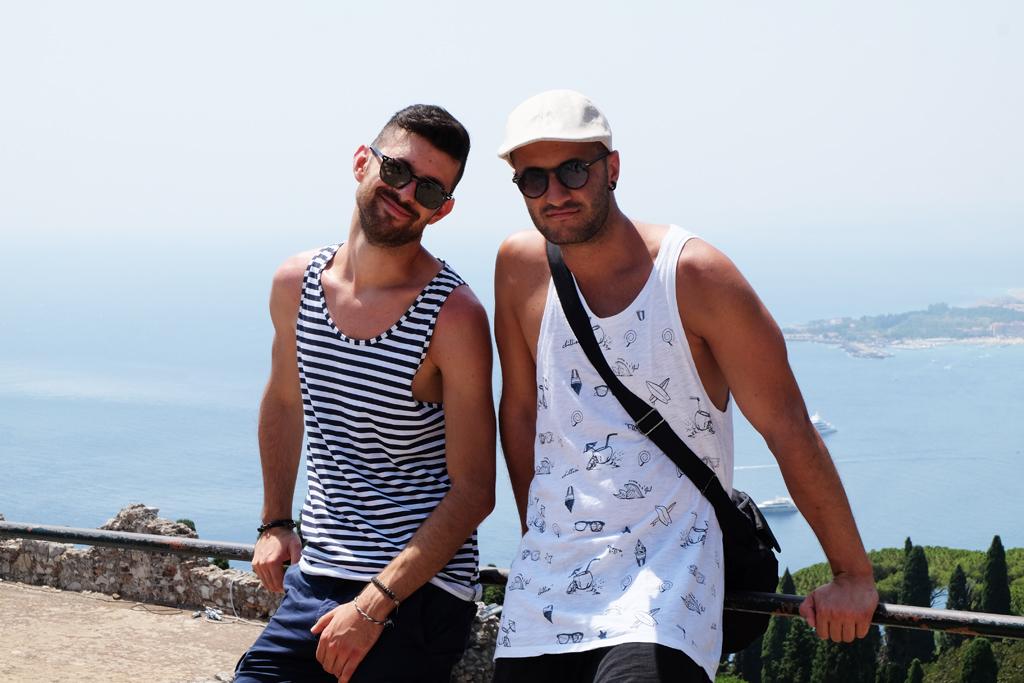 Sicilia on the road Taormina