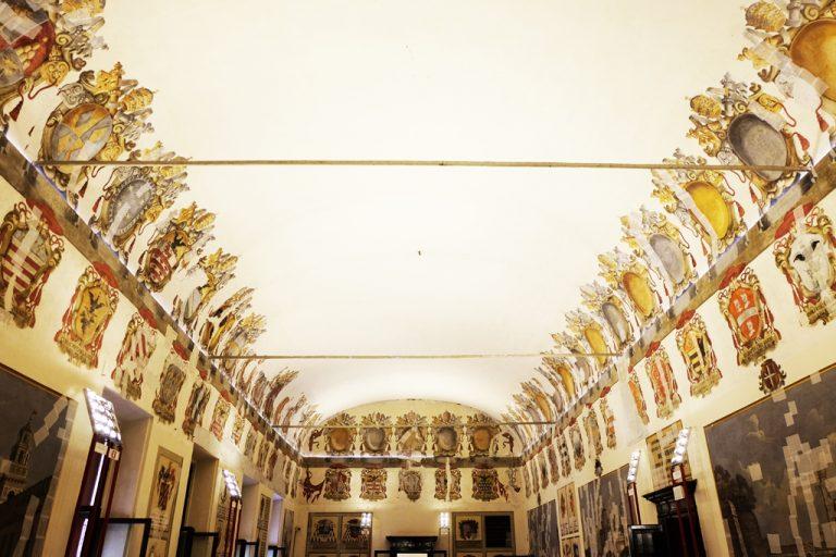 Castello Estense affreschi