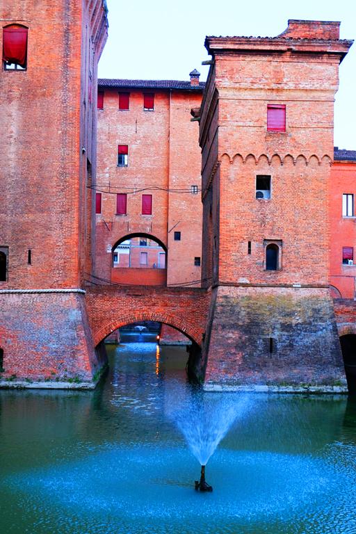 Castello Estense Fontane