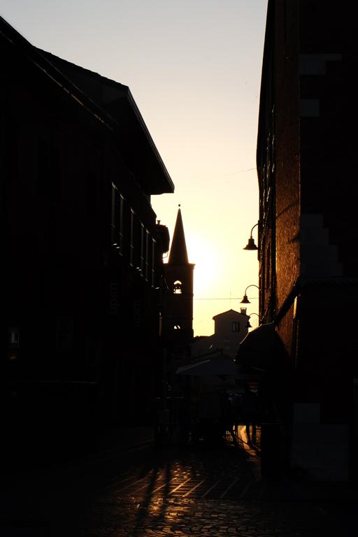 Ferrara tramonto