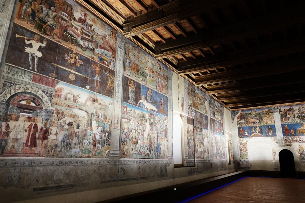Salone dei Mesi Palazzo Schifanoia di Ferrara