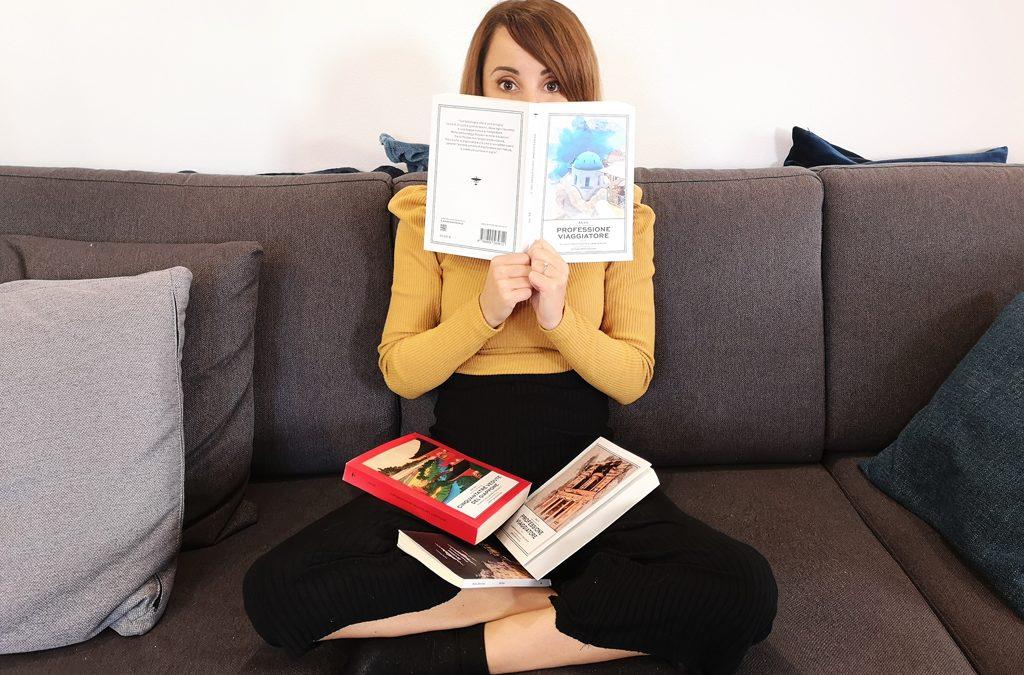 4 Libri per Viaggiare Restando sul Divano