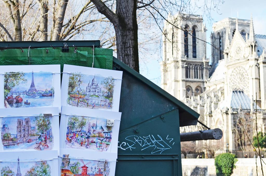 bouquinistes Parigi