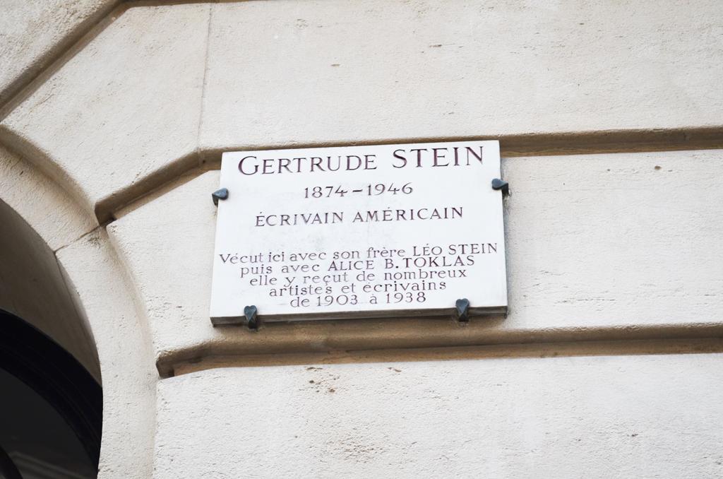 Casa Gertrude Stein Parigi