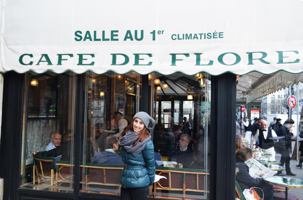 Itinerario letterario a Parigi Café de Flore