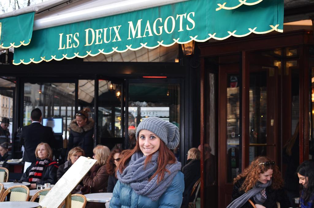 Itinerario letterario a Parigi Les Deux Magots