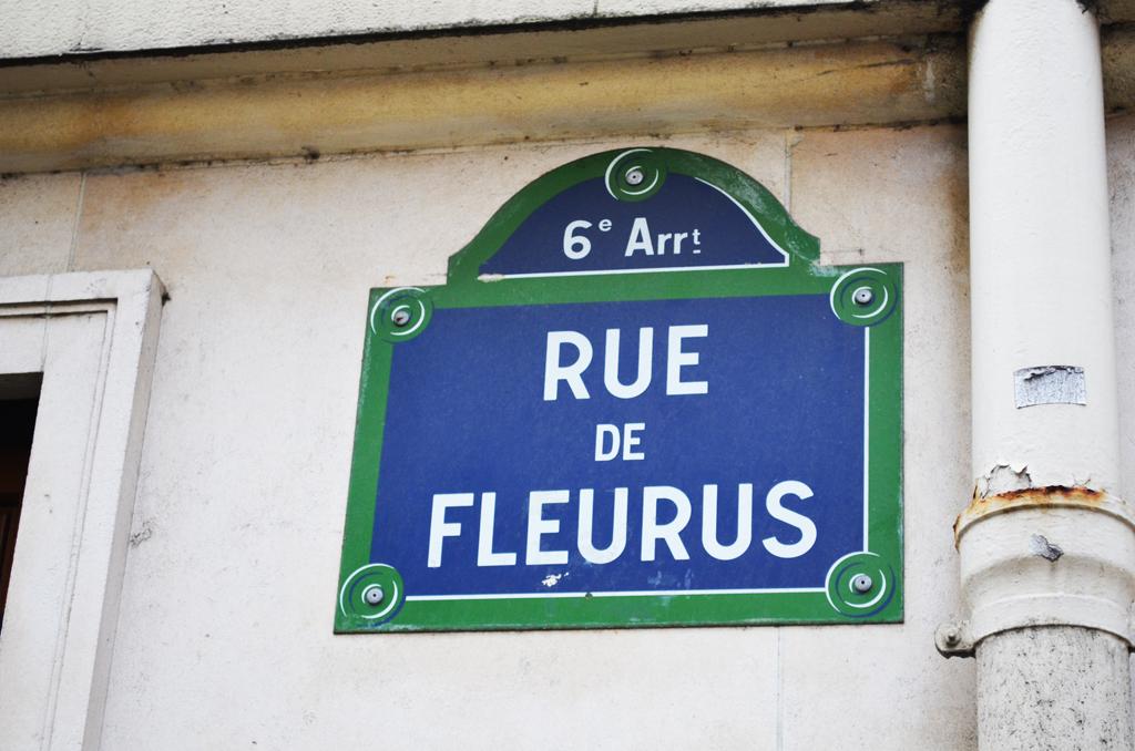 Rue De Fleurs Parigi