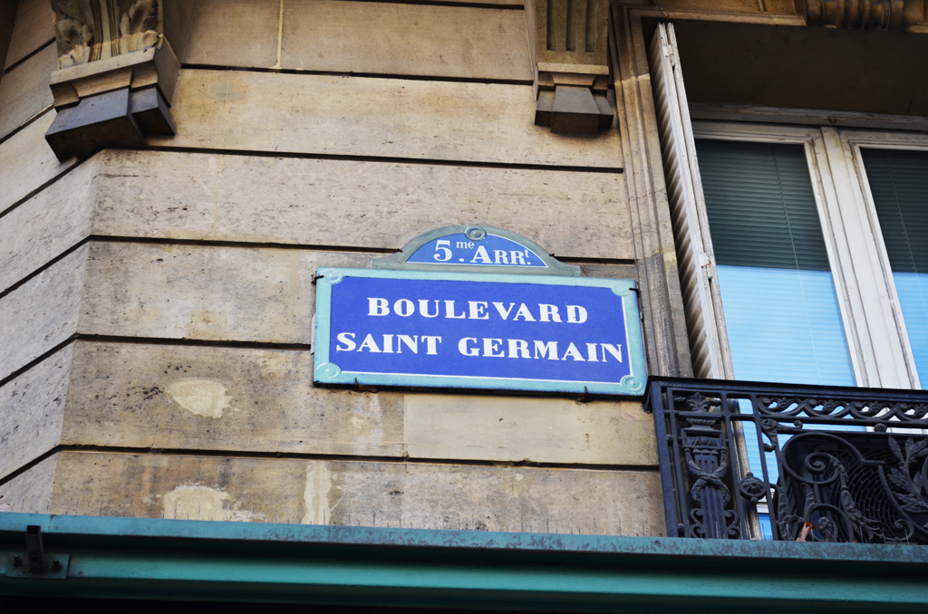 Boulevard Saint Germain Parigi