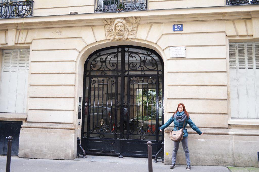 Tour letterario Parigi casa di Gertrude Stein