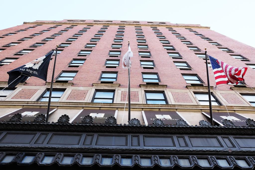 Empire hotel New York