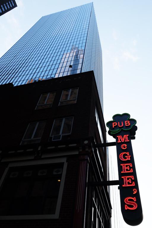 pub Mc Gee's itinerario serie tv New York