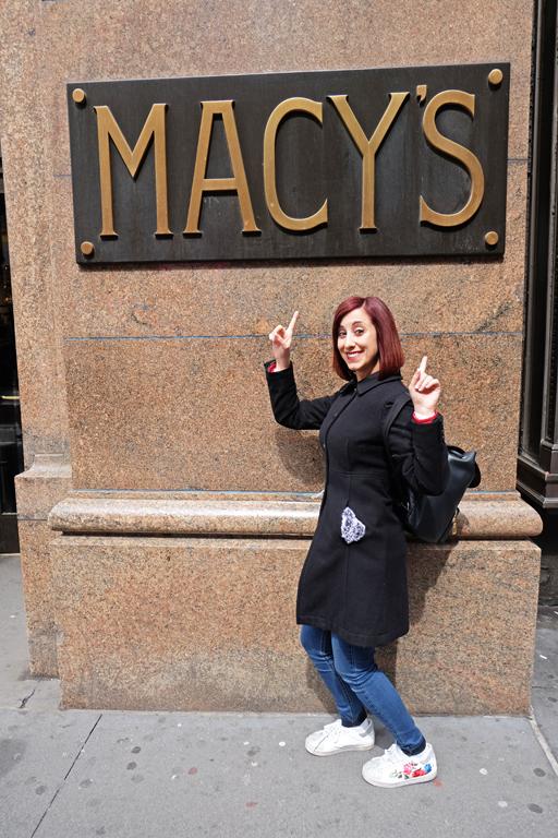 Macys New York shopping
